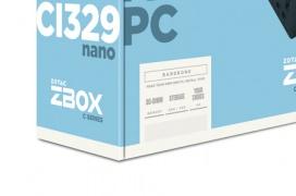 Zotac estrena sus MiniPC ZBOX CI329 Nano equipados con refrigeración pasiva