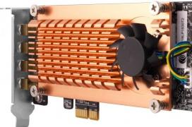 QNAP QWA-AC2600, una tarjeta WiFi PCIe de 2.533 Mbps que requiere de refrigeración activa