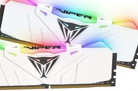 Iluminación RGB y hasta 4.133 MHz en las nuevas memorias DDR4 Patriot Viper RGB Series