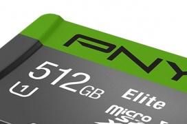 PNY anuncia la primera tarjeta Micro-SD de 512GB del mundo