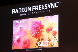 Samsung implementa FreeSync a sus televisores QLED