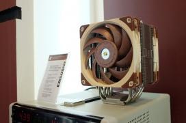 Más ventiladores fabricados con Sterrox y disipadores más densos son las principales novedades de Noctua