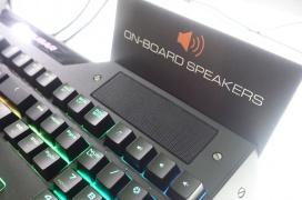 Cougar ha integrado dos altavoces en su nuevo teclado gaming