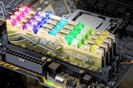 Apacer tiñe de dorado sus memorias DDR4 Panther RGB