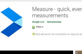 Con Google Measure y un smartphone que soporte ARCore puedes medir distancias con la cámara del móvil
