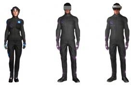 Con el traje HoloSuit podrás controlar y sentir la realidad virtual con todo tu cuerpo