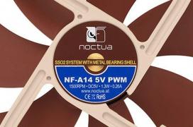 Noctua expande su línea de modelos a 5 voltios con 7 modelos nuevos