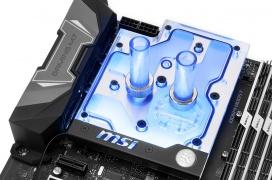 La MSI X470 Gaming M7 para Ryzen ya tiene su propio monobloque de RL de EK