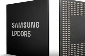 Samsung anuncia el primer chip de 8 Gb LPDDR5 DRAM fabricado a 10 nm