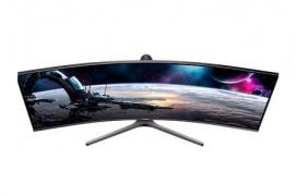 El monitor curvado Samsung C43J89 llega en formato 32:10 con 120 Hz
