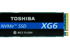 El Toshiba XG6 NVMe M.2 alcanza los 3180 MB/s y 365K IOPS