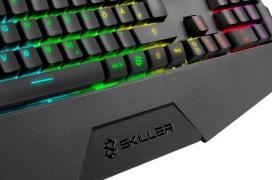 El teclado gaming Sharkoon SGK4 llega con iluminación RGB por zonas por 29.99 Euros