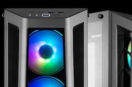 Cooler Master lanza la MasterBox MB530P con triple cristal templado e iluminación ARGB