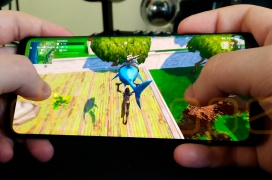 Así luce el gameplay de Fortnite para Android en un Galaxy S9+