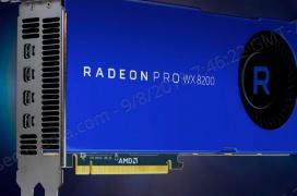AMD anuncia su gráfica profesional Radeon Pro WX 8200 con 8 GB de memoria HBM 2.0
