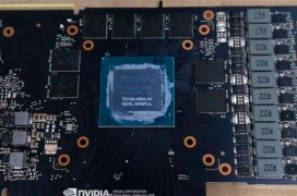 Primeras imágenes del enorme chip TU104 que dará vida a las NVIDIA GeForce RTX 2080