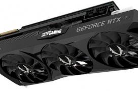 ZOTAC también deja ver sus GeForce RTX 2080 personalizadas con triple ventilador