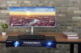 Samsung lanza su nuevo monitor Ultrawide con Freesync y conectividad Thunderbolt 3