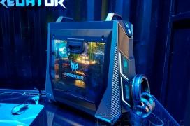 Dos CPUs Intel Xeon de 24 núcleos y gráficas NVIDIA RTX en el impresionante sobremesa ACER Predator X
