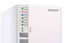 QNAP añade el NASTS-332X de 3 bahías con conectividad 10 GbE