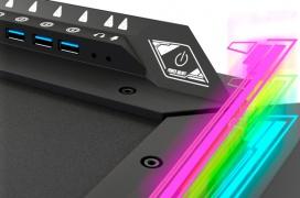 NewSkill presenta su nueva mesa gaming Fenrir equipada con un hub USB 3.0 y RGB