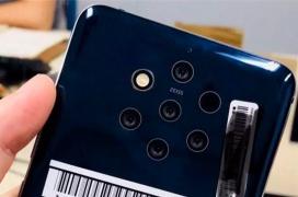 Un misterioso smartphone de Nokia posa para la cámara con 5 cámaras