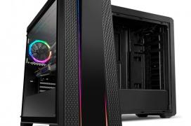 Cristal templado y RGB en la torre ATX compacta NOX Hummer Fusion