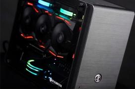 Raijintek lanza la torre Mini-ITX Ophion EVO con espacio para fuentes estándar y radiadores dobles