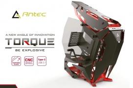 Antec muestra una caja E-ATX de diseño abierto y gran flujo de aire