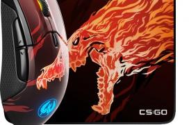 SteelSeries, en colaboración con Valve, lanza versiones CS:GO del ratón Rival 310 y la alfombrilla QcK+
