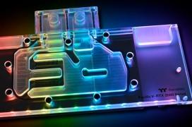 Thermaltake llena de RGB sus bloques de agua para las NVIDIA RTX 2080