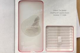Se filtra la fecha de presentación del OnePlus 6T en una invitación
