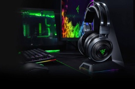 Los Razer Nari Ultimate incorporan un sistema de respuesta haptica al sonido