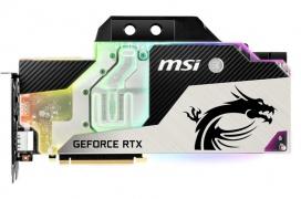 MSI revela las nuevas RTX 2080 y 2080Ti con refrigeración líquida a elegir