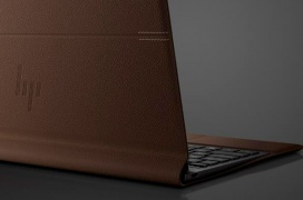 HP combina cuero y aluminio en el convertible Spectre Folio Leather