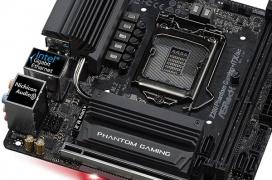 Asrock muestra su placa base Z390 Phantom Gaming ITX/ac para equipos muy compactos