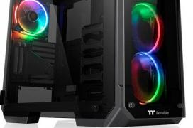 Thermaltake renueva las torres View V21 TG y V71 TG con versiones Plus con RGB