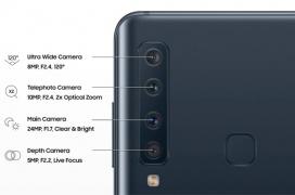 Se filtran las 4 cámaras traseras que llevará el próximo Samsung Galaxy A9