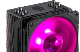 Cooler Master pone al día sus disipadores Hyper 212 con RGB y acabado negro