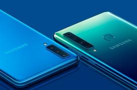 Ya es oficial el Samsung Galaxy A9, el primer móvil con cuatro cámaras traseras