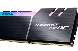 Las RAM G.Skill Trident Z RGB DC DDR4 duplican su altura para duplicar su capacidad