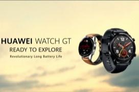 Huawei estrena su smartwatch Watch GT con resistencia IP67 y hasta un mes de duración de batería
