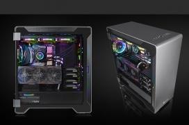 La Thermaltake A500 TG es capaz de dar hogar a tres radiadores y una gran modularidad