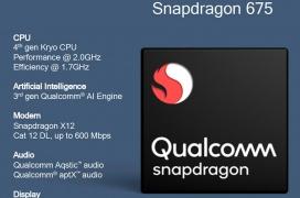 Qualcomm desvela el procesador Snapdragon 675 para smartphones gaming asequibles