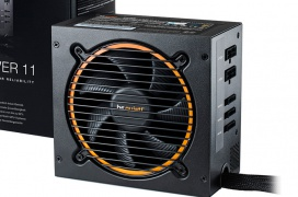 La gama de fuentes Be Quiet! Pure Power 11 ofrece desde 300 W a 700 W con eficiencia 80 PLUS GOLD
