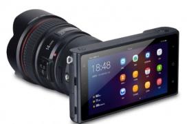 Yongnuo presenta una cámara mirrorless con Android 7.1 y montura Canon EF