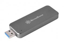 Silverstone presenta una carcasa externa para SSD M.2. con el tamaño de un pendrive