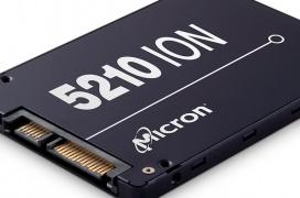 El SSD Micron 5210 con memorias QLC ya está disponible con hasta 7,68 TB de capacidad