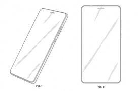 Huawei ha patentado un diseño de Smartphone con un agujero en la pantalla para el altavoz de llamada