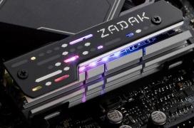 Los SSD M.2 no se librarán de la iluminación RGB con este disipador de ZADAK 511